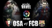 Previa Osasuna – FC Barcelona: ganar para sanar