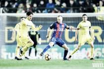 Villarreal . FC Barcelona, puntuaciones Jornada 17 Liga Santander