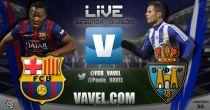 Barcelona B - SD Ponferradina en directo online en Segunda División 2015