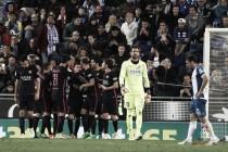 Liga: il Barça supera anche il derby con l'Espanyol e torna in cima (0-3)