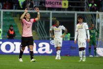 Un super Palermo strapazza il Cagliari: 5-0