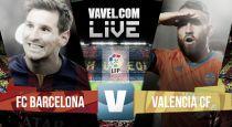 Minuto a minuto Barcelona vs Valencia 2015 en vivo y en directo online hoy en la Liga BBVA
