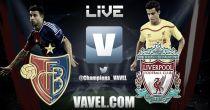Basilea vs Liverpool en vivo y directo online