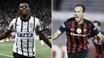 Resultado Corinthians vs San Lorenzo en la Copa Libertadores 2015(0-0)