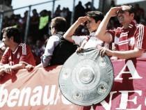 FC Bayern nach 2:1 zum vierten Mal in Folge deutscher Meister