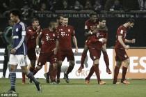 Schalke 04 1-3 Bayern Munich: Bavarians go eight points clear thanks to grandstand finish