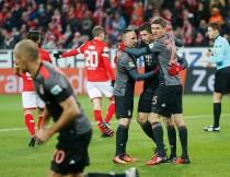 Bundesliga - Il Bayern Monaco aggancia il Lispia per una notte: 3-1 al Mainz