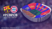 """We are ready"", el mosaico para recibir al Bayern"