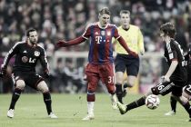 Resultado Bayern de Múnich vs Bayer Leverkusen en Bundesliga 2015 (3-0)