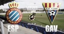 RCD Espanyol B - CF Gavà: Ganar para coger aire