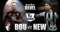 Bournemouth - Newcastle United: batalla en las puertas del infierno
