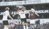 Tottenham 0-1 Aston Villa: Benteke goal enough for three points on Sherwood's spurs return