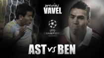 Astana vs Benfica: otra vez toca reivindicarse