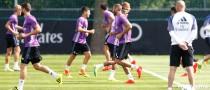 Nuevo entrenamiento blanco sin Benzema