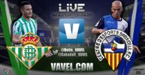 Real Betis - Sabadell en directo online