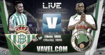 Real Betis - Racing de Santander en directo online