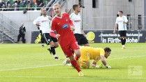 SpVgg Greuther Fürth 0-2 1. FC Heidenheim: Halloran and Kleindienst send visitors into second