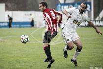 El Bilbao Athletic golpea más fuerte en el derbi