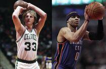 """Bird incorona Westbrook: """"Spero che vinca 10 titoli di MVP di fila"""""""