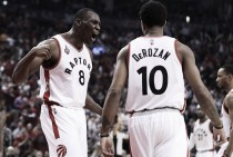 DeMar DeRozan, Bismack Biyombo all business in resigning with the Toronto Raptors