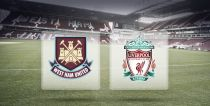West Ham United vs Liverpool, Premier League en vivo y en directo online