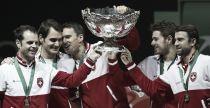 Federer / Gasquet - Cérémonie de clôture Coupe Davis 2014