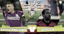 Resultado final: Nacional vs Huracán en octavos de final de la Copa Libertadores 2016 (4-2)