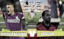 Atlético Nacional vs Huracán en vivo y en directo online en partido Copa Libertadores 2016 (0-0)