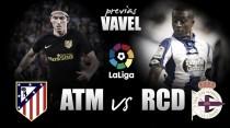 Previa Atlético de Madrid - RC Deportivo: primeras dudas