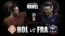 Previa Holanda - Francia: un combate de pesos pesados