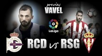 Previa RC Deportivo - Sporting de Gijón: evitar las alarmas