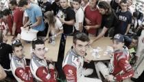 Baile de pilotos WRC en 2017