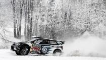 Oiger líder en la primera jornada del Rallye de Suecia