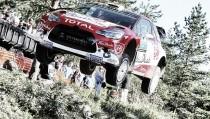 Meeke, líder destacado en la primera jornada del Neste Rallye Finlandia