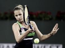 Pliskova pasa a cuartos de final sin desgastarse