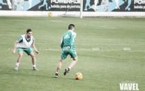Bruno, Digard y Vargas ausencias en el entreno