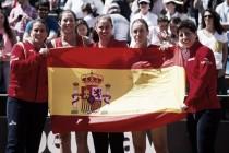 España disputará la primera ronda de la Copa Federación en Ostrava