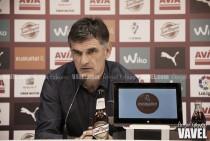 """Mendilibar: """"Lo bueno de este equipo es su capacidad ofensiva"""""""