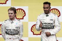 """Spa, Mercedes sempre più leader. Hamilton: """"Mai sotto pressione"""". Rosberg: """"Partenza terribile"""""""
