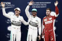 Sepang: sotto la pioggia nuova pole per Hamilton. Gioia Ferrari, Vettel in prima fila