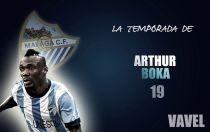 Málaga 2014/2015:la temporada de Arthur Boka