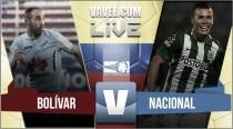 Bolívar vs Nacional en vivo online en Copa Sudamericana 2016 (0-0)