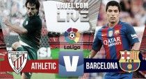 Athletic de Bilbao vs FC Barcelona en vivo y en directo online