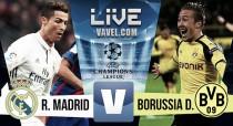 Real Madrid vs Borussia de Dortmund en vivo y en directo online en Champions League 2016
