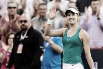 Bouchard vuelve a sonreír; Kvitova y Konta cumplen con los pronósticos