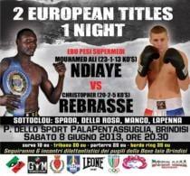 Due titoli europei in una notte: sfida per i superleggeri e i supermedi