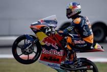 Gran Premio d'Aragona, Moto3: vince Navarro, Binder campione del mondo
