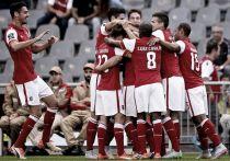 'Manita' sin oposición de Sporting de Braga a Marítimo