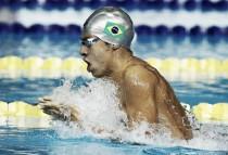 Brandonn Almeida bate el récord sudamericano en 400 metros libres