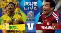 Resultado Venezuela - Brasil en Copa América 2015 (1-2)
